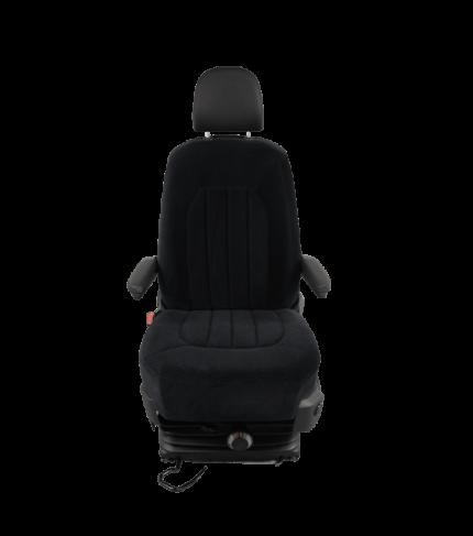 MAN TGE v.a. 2017 stoelhoes stof bestuurder comfort met twee armleuning gaten-2