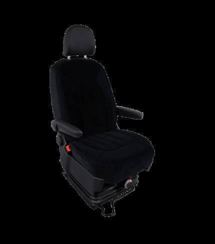 MAN TGE v.a. 2017 stoelhoes stof bestuurder comfort met twee armleuning gaten