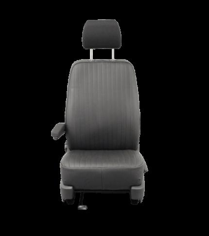 - Opel Vivaro pasvormhoes t.b.v. voorstoel. - rechter stoel - zwarte kunstlederen hoes - zonder airbag - met originele armle-2