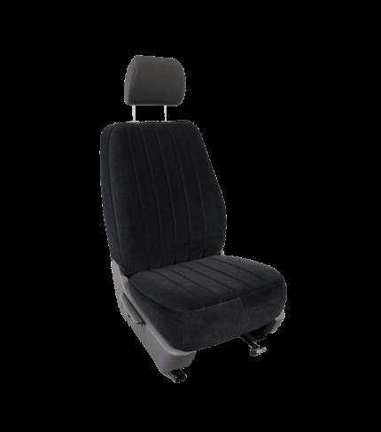 VW Caddy (v.a. 2015) stoelhoes stof bijrijder standaard-2